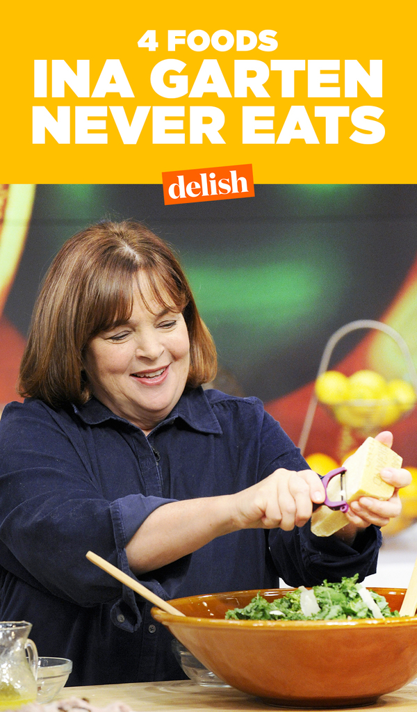 Ina Garten Weight these are the 4 foods ina garten refuses to eat