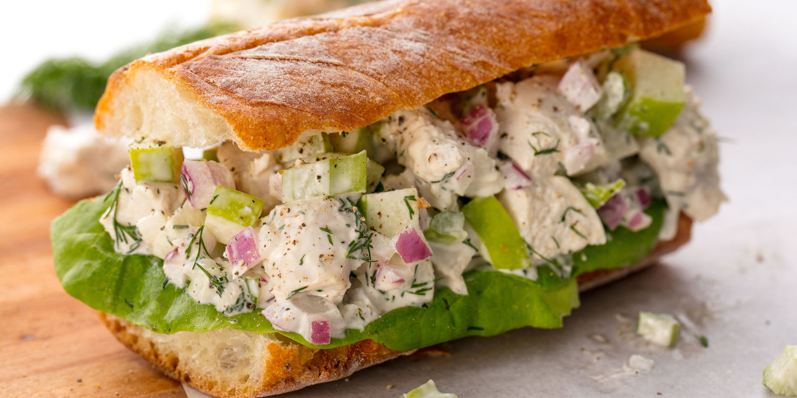 Best Chicken Salad Sandwich Recipe - How to Make a ...
