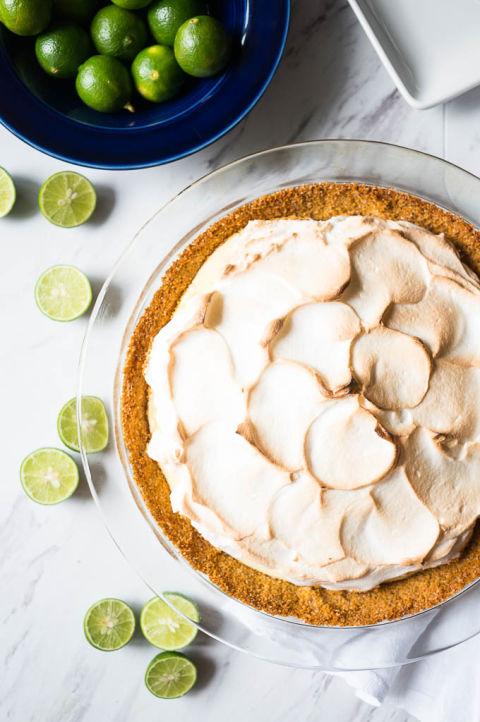 how to make key lime pie recipe
