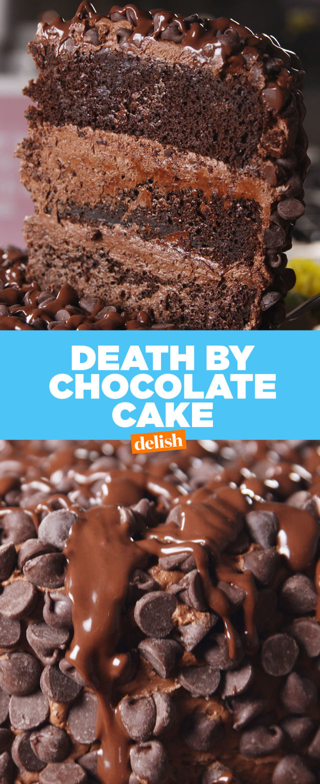 Best Death by Chocolate Cake Recipe - How to Make Death by ...