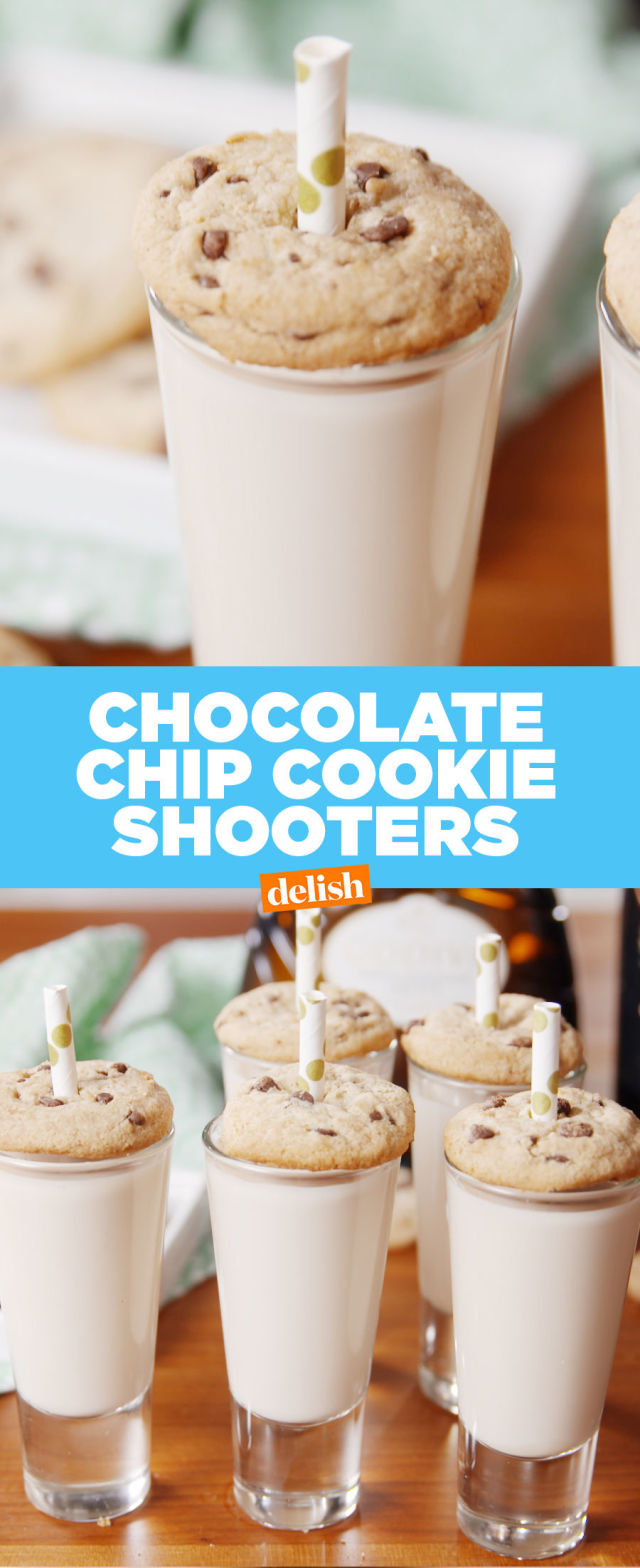 Best Chocolate Chip Cookie Shooters Recipe - How to Make Chocolate ...
