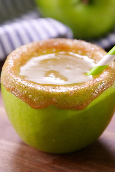 Caramel Apple Spritzers
