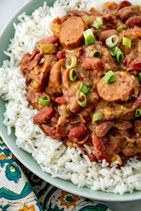 Red Beans and Rice Vertical