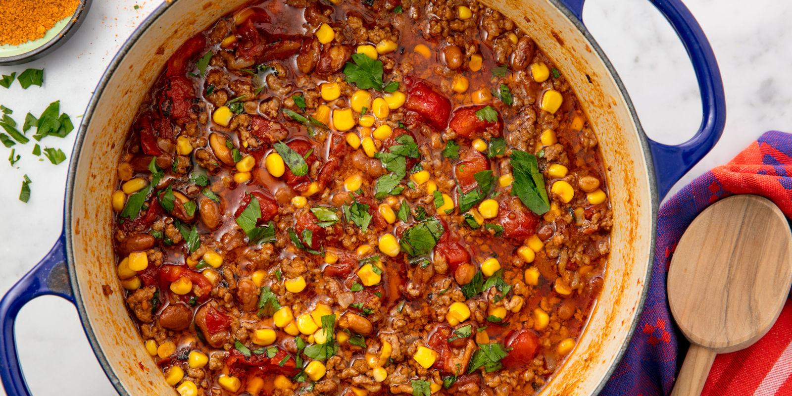 Lindsay Funston Easy Taco Soup Recipe How To Make Taco Soup