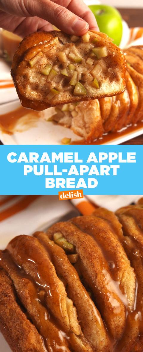 Best Caramel Apple Pull Apart Bread Recipe How To Make
