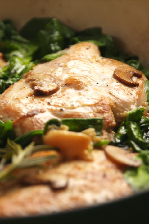 Garlic Rosemary Chicken Vertical