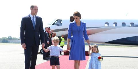 Prince William, Duchess Kate, Prince George, Princess Charlotte