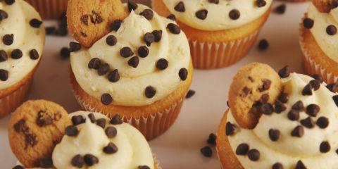 Cookie Dough Cupcakes Horizontal