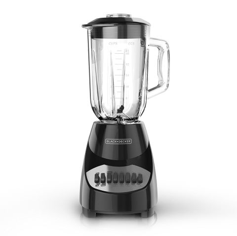 If you're looking for a classic blender without a crazy price tag, check out this 10-speed countertop model. BUY NOW: $26