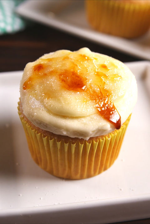 Cupcakes the French would approve of. Get the recipe from TheNextTycoon
