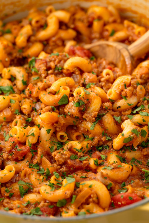 Comfort food at its finest. Get the recipe: Goulash