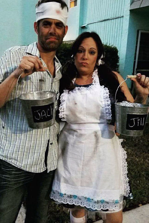 Halloween Costume for Couples - Jack and Jill