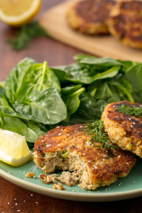 You need to make these salmon patties. Get the recipe: Salmon Patties
