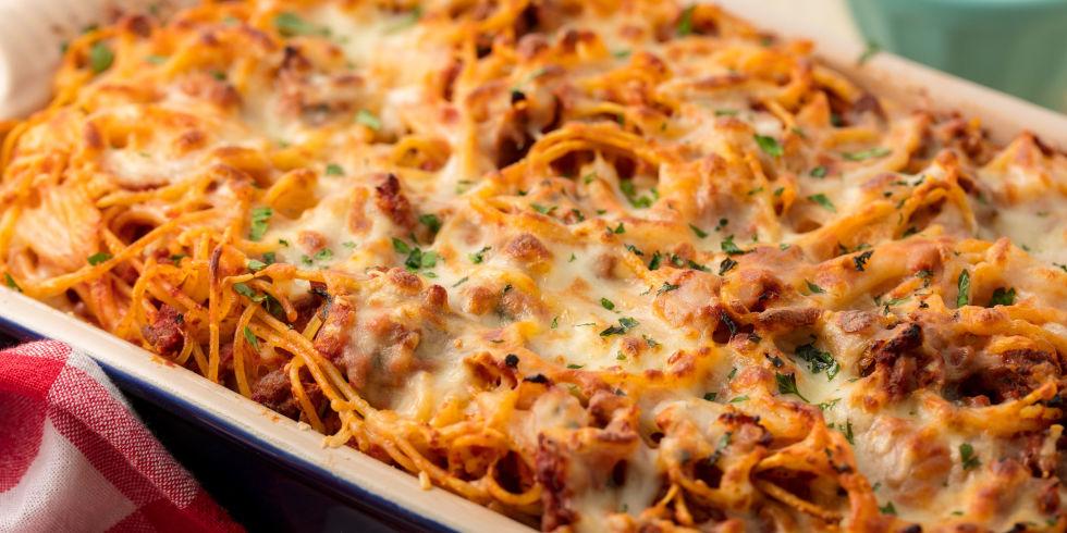 Baked spaghetti recipes easy