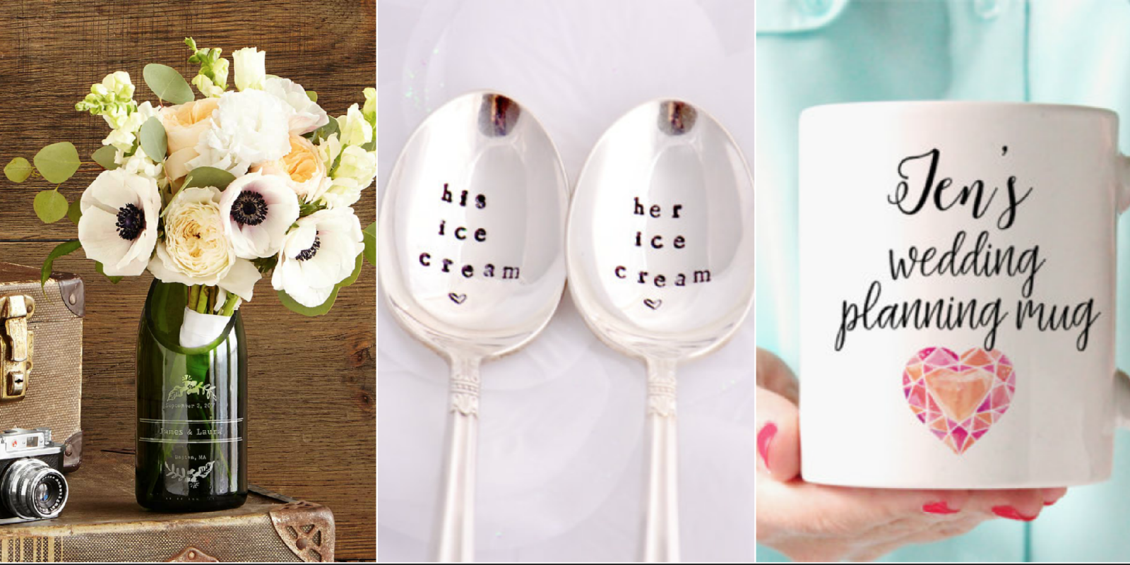Unique Wedding Gift Ideas: 10 Best Bridal Shower Gift Ideas For The Bride -Unique
