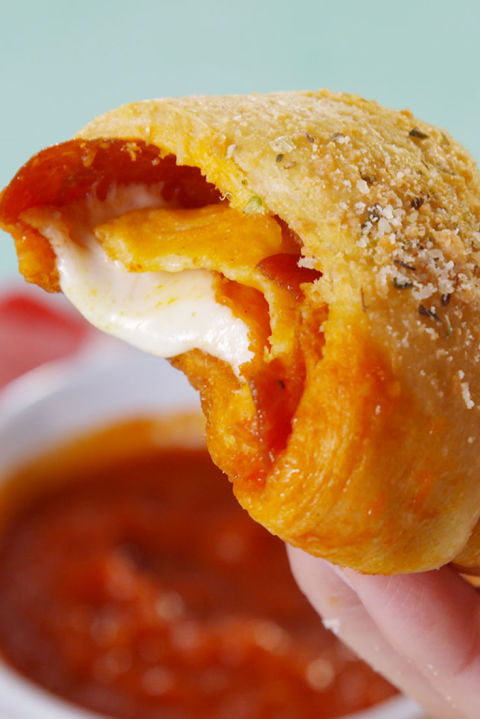 A rolled up version of your favorite food. Get the recipe from Delish.