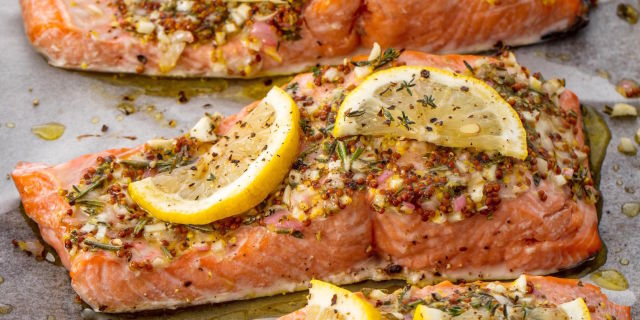 Easy broiled salmon recipe how long to broil salmon ccuart Choice Image