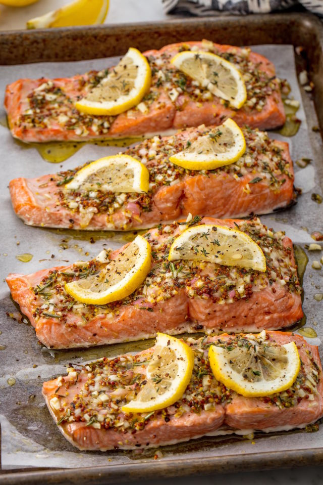 Easy broiled salmon recipe how long to broil salmon broiled salmon vertical ccuart Choice Image