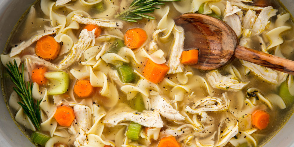 Crockpot Chicken Noodle Soup Horizontal