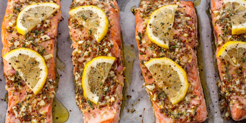Easy broiled salmon recipe how long to broil salmon broiled salmon horizontal ccuart Choice Image