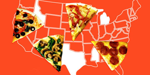50 states pizza toppings