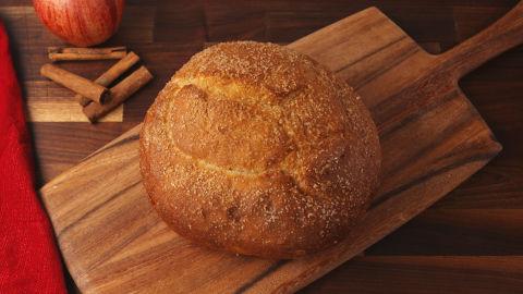 Apple Pie Bread Bowl Horizontal