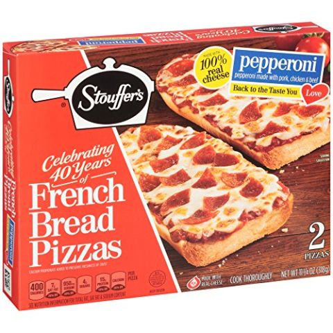 French bread>>>pizza crust. BUY NOW: $3