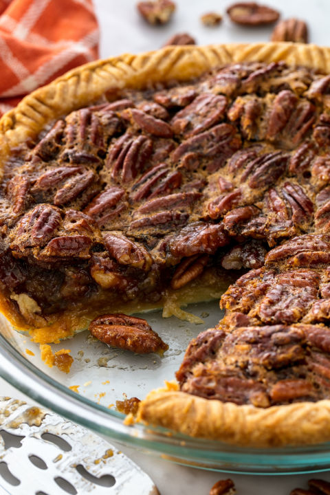 Nothing screams Thanksgiving more than a classic pecan pie.Get the recipe from TheNextTycoon.