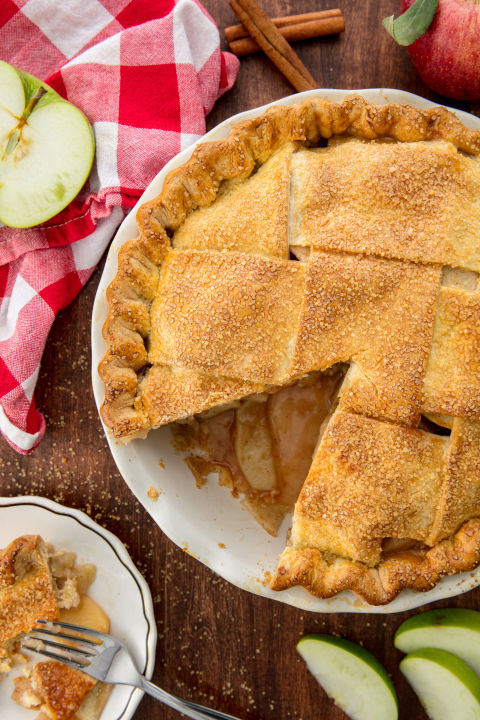 A homemade apple pie that will even impress your grandma. Get the recipe fromDelish.