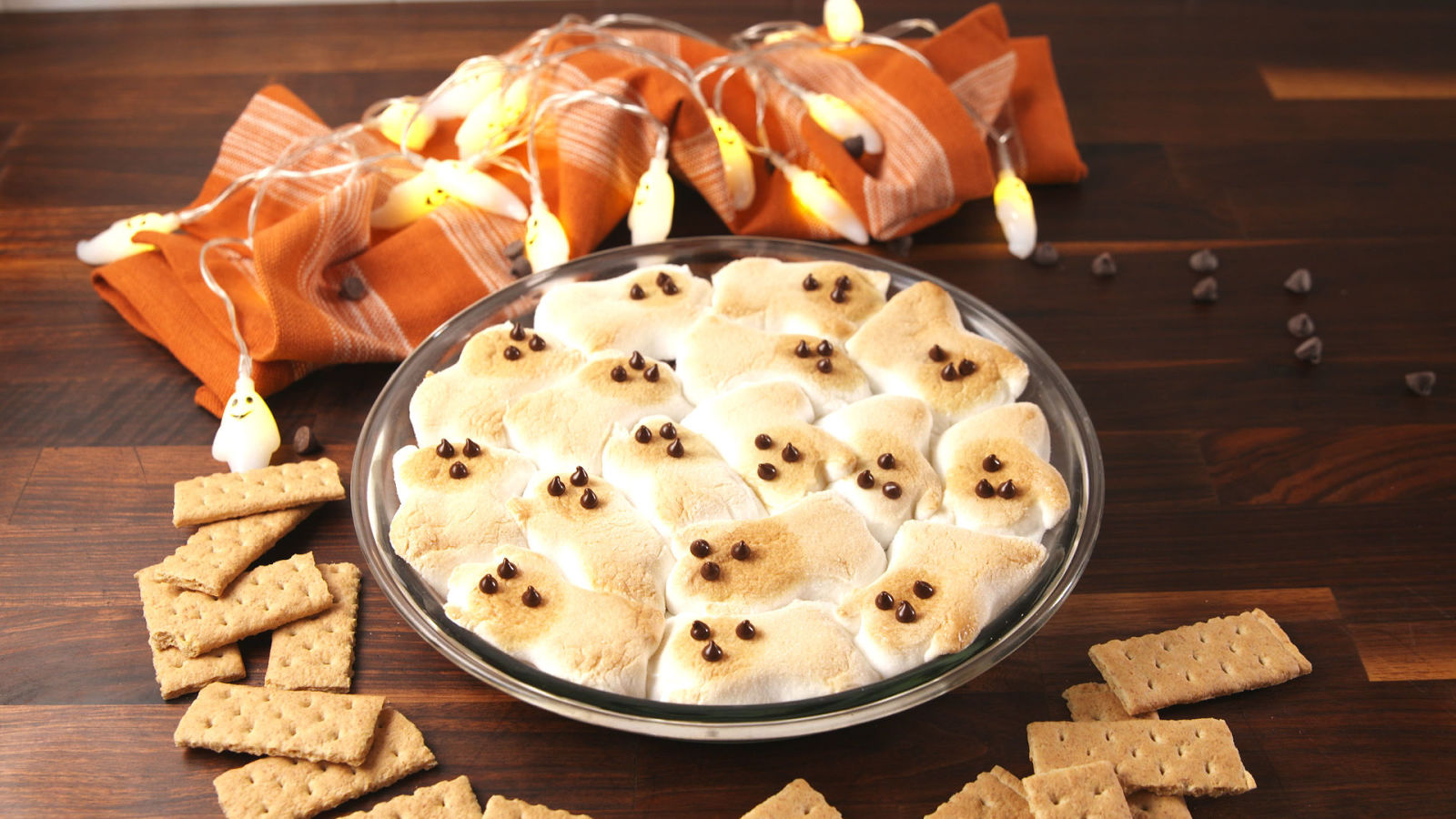 Best Ghost S Mores Dip How To Make Ghost S Mores Dip