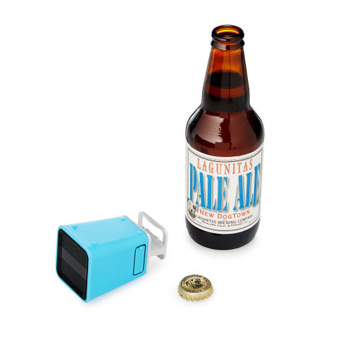 A bottle opener that doubles as a portable speaker? Time to party. BUY NOW: $40