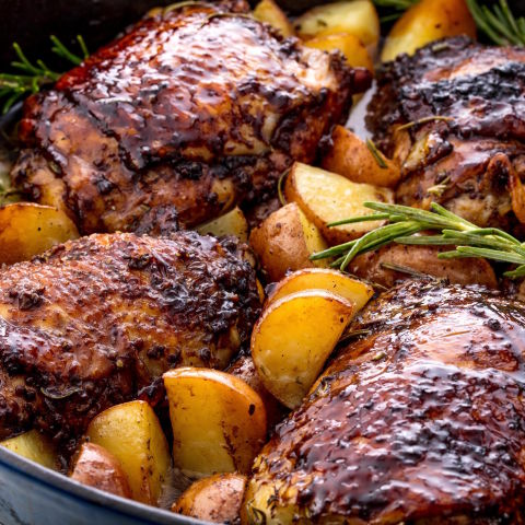 Balsamic Glazed Chicken Horizontal