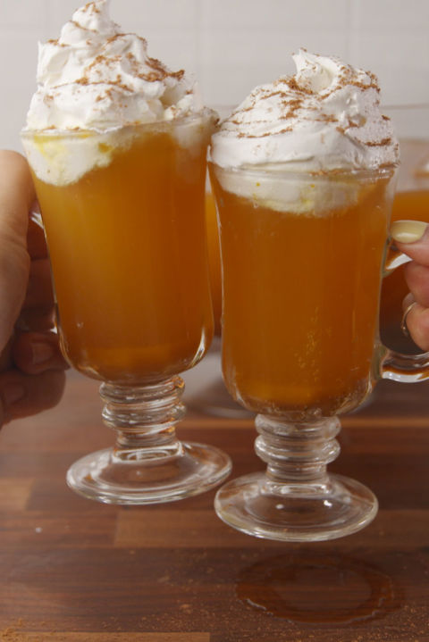 Your favorite fall pie as a boozy punch. Get the recipe fromDelish.