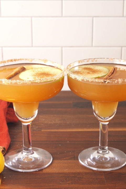 Perfect for your next fall soiree. Get the recipe from Delish.BUY NOW: MARGARITA GLASSES, $20;