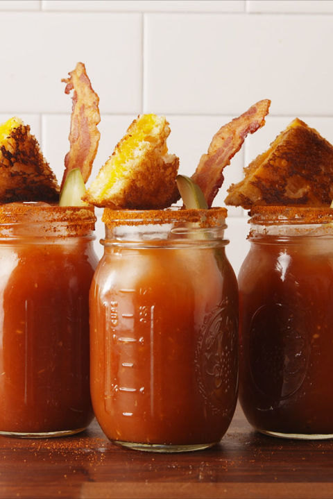 The cocktail version of grilled cheese and tomato soup. Get the recipe fromDelish.