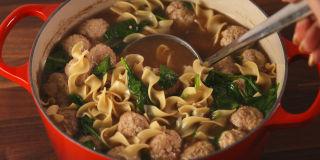 ginger pork noodle soup