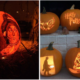 These tricked out jack-o'-lanterns will definitely spark your creativity.