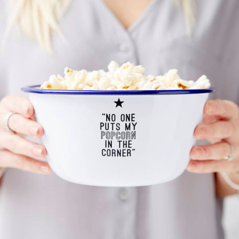 What's the point of watching a movie without popcorn? BUY NOW: $22