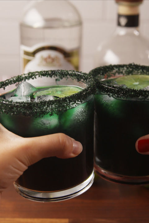 Scary good margaritas. Get the recipe fromDelish.