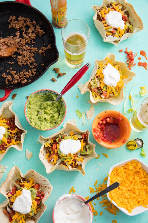 Beef Taco Boats Vertical