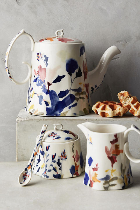 Tea tastes better out of a pretty pot. BUY NOW: $68