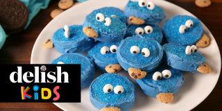 TheNextTycoon Kids Cookie Monster Oreos