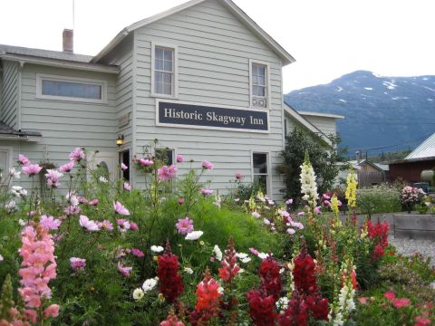 Olivia's Alaskan Bistro is a storied spot to dine at this inn inSkagway, AK. The original location opened in 1897 as a bed & breakfast and restaurant for those drawn to the Klondike Gold Rush, and you can still enjoy fresh seafood and ingredients from the onsite garden.