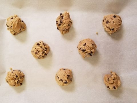 Old Pillsbury Cookie Dough
