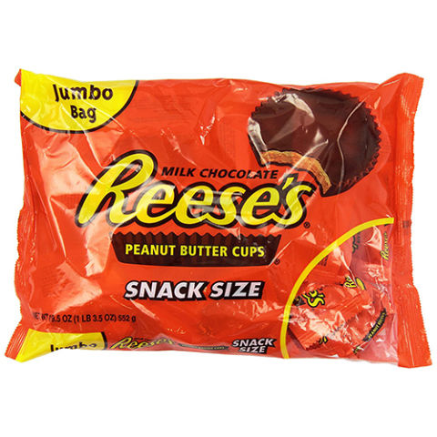 REESE'S Peanut Butter Cup Jumbo Bag