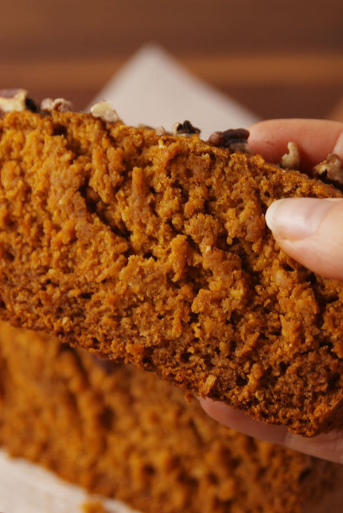 Pumpkin bread you can feel good about. Get the recipe from TheNextTycoon. BUY NOW: Steel Loaf Pan, $14, .