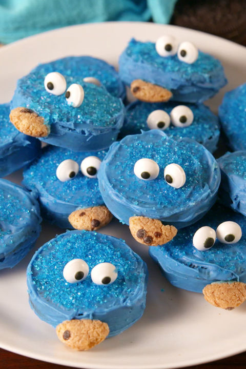 Don't let the Cookie Monster get your cookies! Get the recipe from TheNextTycoon. BUY NOW: Wilton Candy Eyeballs, $5.80, .