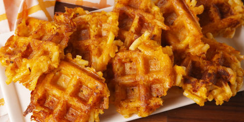 Mac 'N Cheese Waffles