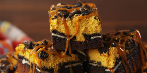Slutty Pumpkin Bars Horizontal
