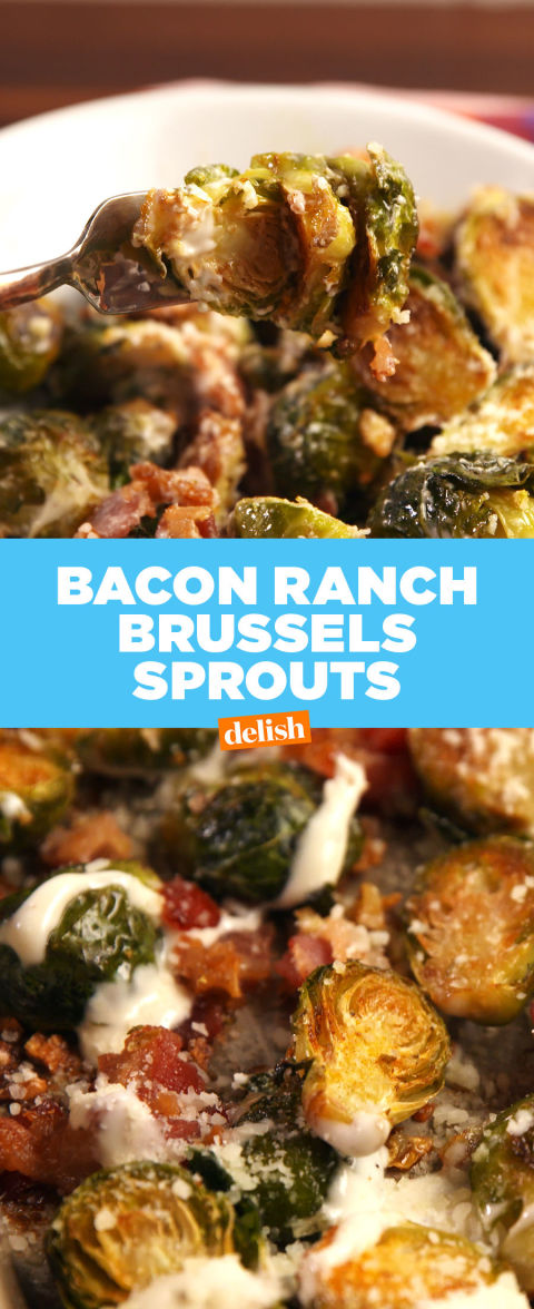 Best Bacon Ranch Brussels Recipe How To Make Bacon Ranch